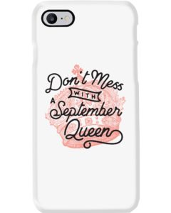 September Queen Cell Phone Case