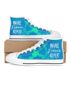 Inhale Excel Repeat blue sneakers