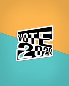 Vote 2020 Sticker