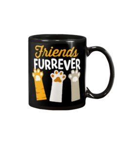 Friends Furrever Cat Lover Mug