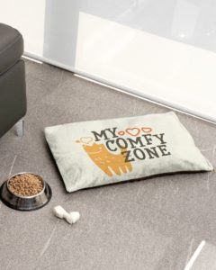 My comfy zone pet bed