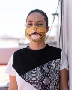 Dog lover face mask
