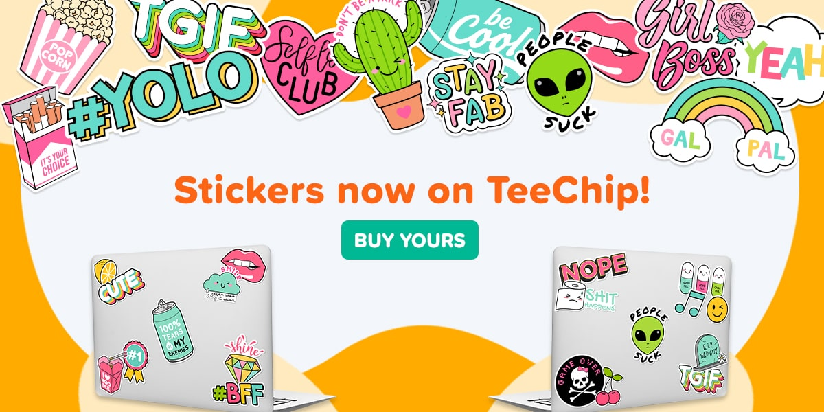TeeChip Stickers