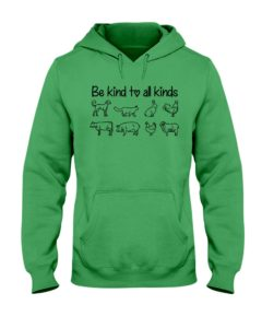 Be Kind to All Kinds Hooded Sweatshirt