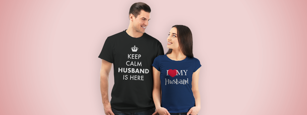 Matching Shirts for Husband and Wife
