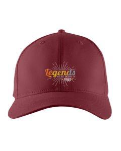 Birthday 1980 Legend Embroidered Hat