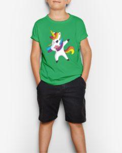 Dabbing Unicorn Youth T-Shirt