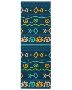 Ethnic Patterns Yoga Mat