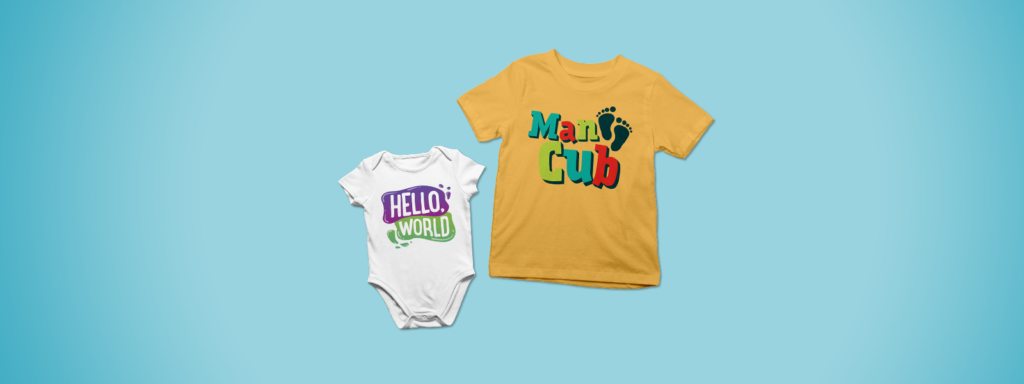 Baby Onesie and Toddler Shirt