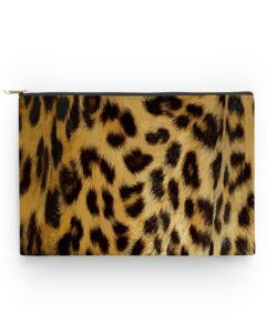 Leopard Print Accessory Pouch
