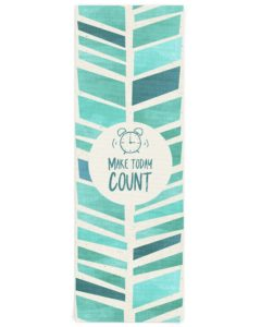 Make Today Count Yoga Mat