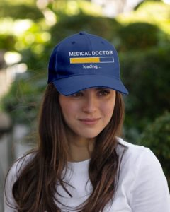 Medical Doctor Loading Med Student Embroidered Hat