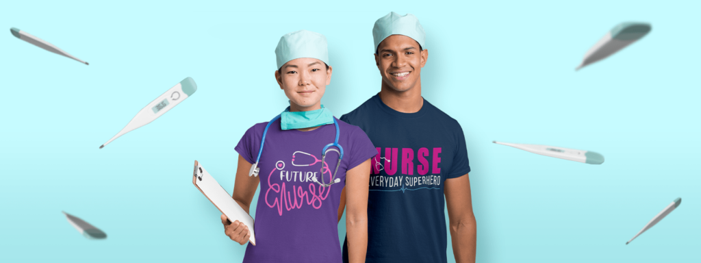Nurse Wearing TeeChip Tees