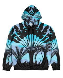 Palm Grove Women's All Over Print Hoodie