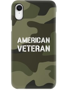 Proud American Veteran iPhone Case