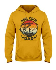 Reel Cool Dad T-Shirt Hooded Sweatshirt