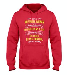 I'm a November Woman