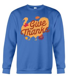 Give Thanks Crewneck Sweatshirt