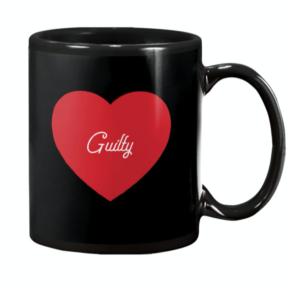 Guilty - Couple's Design Mug