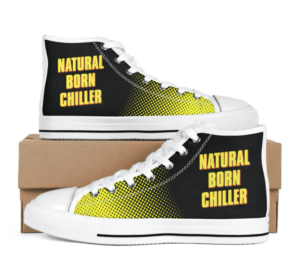 Natural Born Chiller Men's White Shoes