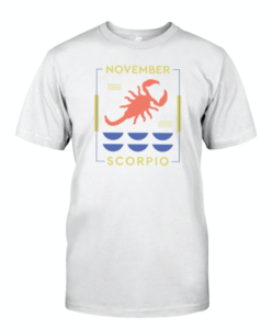 November Scorpio T-shirt