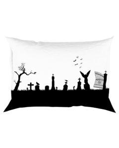 The Darkest Graveyard Rectangular Pillowcase