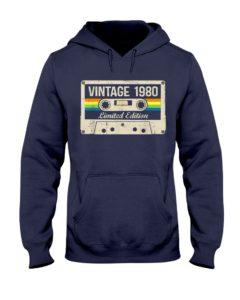 Vintage 1980 Hooded Sweatshirt