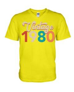Vintage 1980 V-Neck T-Shirt