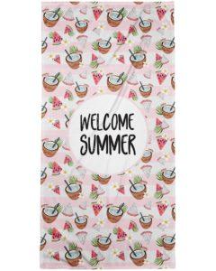 Welcome Summer Bath Towel