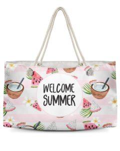 Welcome Summer Weekender Tote