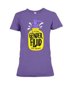 All Natural Gender Fluid Premium Fit Ladies Tee