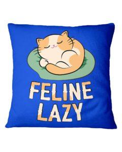 Feline Lazy Square Pillowcase