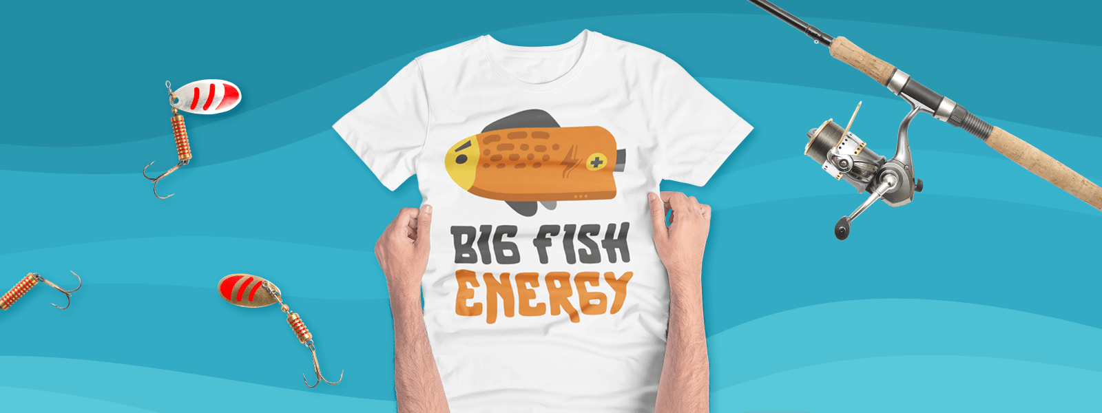 Custom Fishing Designs to Wear