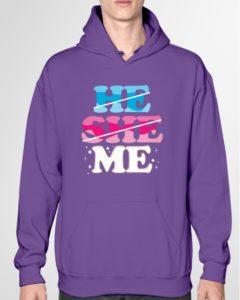 ME - Non Binary Hooded Sweatshirt