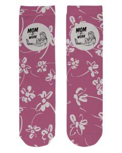 Mom at Work Crew Length Socks