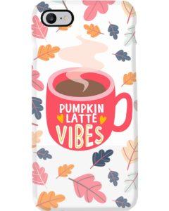 Pumpkin latte vibes iPhone 7 Case