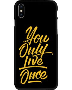 You Only Live Once iPhone X Case