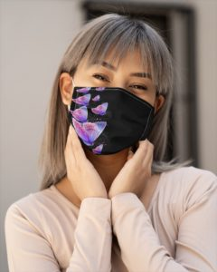 butterfly face mask