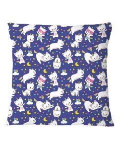 Cat Unicorn Square Pillowcase