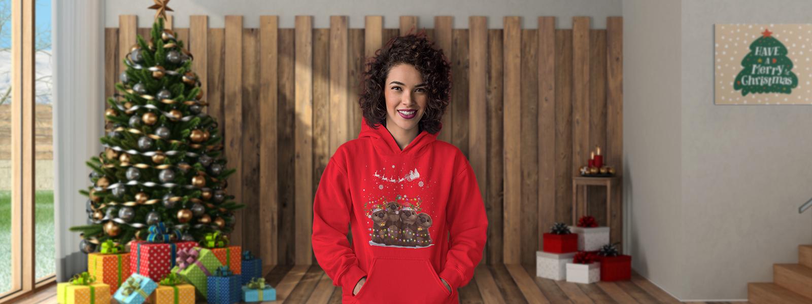 Cute Christmas Animal Shirts and Apparel