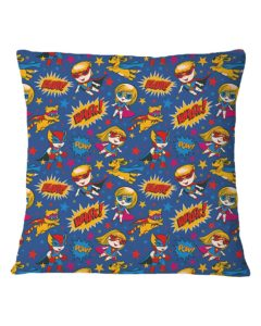 Dog Heroes Square Pillowcase