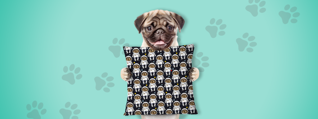 Home Pet Decor Ideas Dog Pillowcase