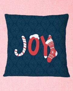 Joy Square Pillowcase