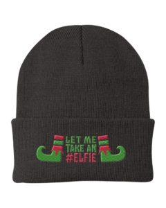 Let Me Take An Elfie Knit Beanie