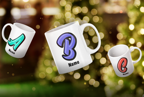 Personalized Name Gifts for the Holidays