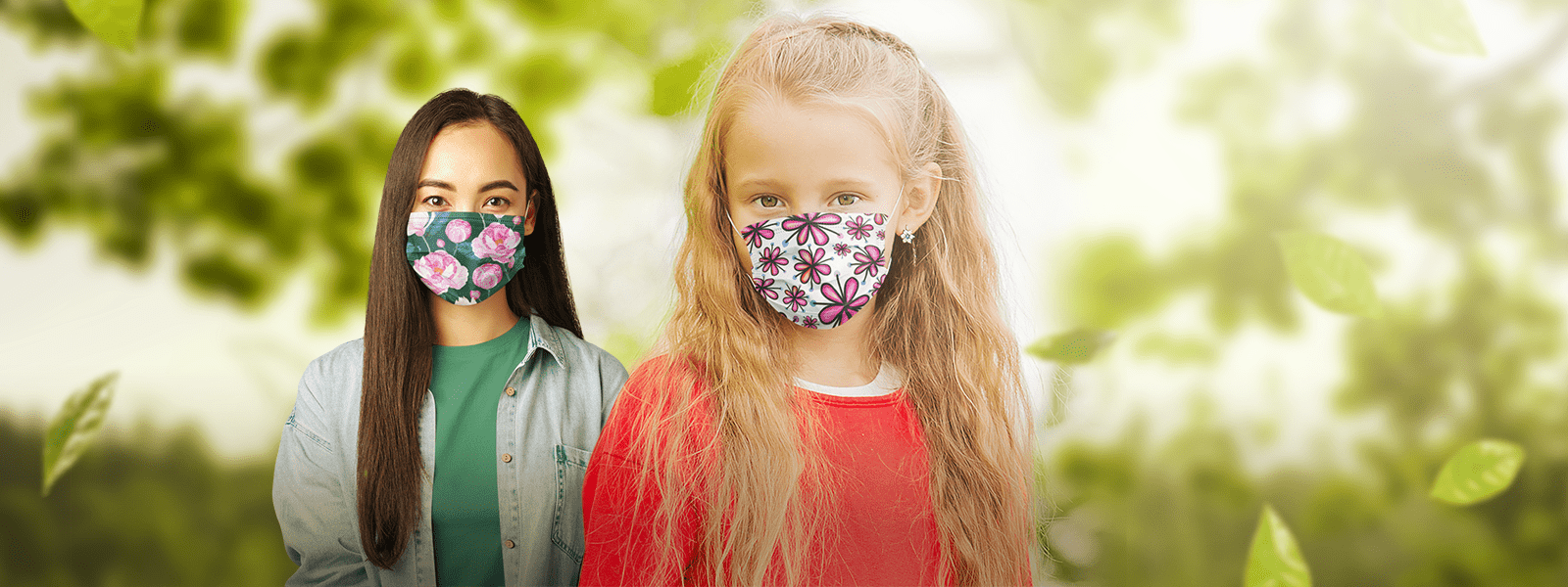 3 Layer Face Masks for Kids and Adults