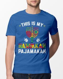 This Is My Hanukkah Pajamakah Jewish Classic T-Shirt