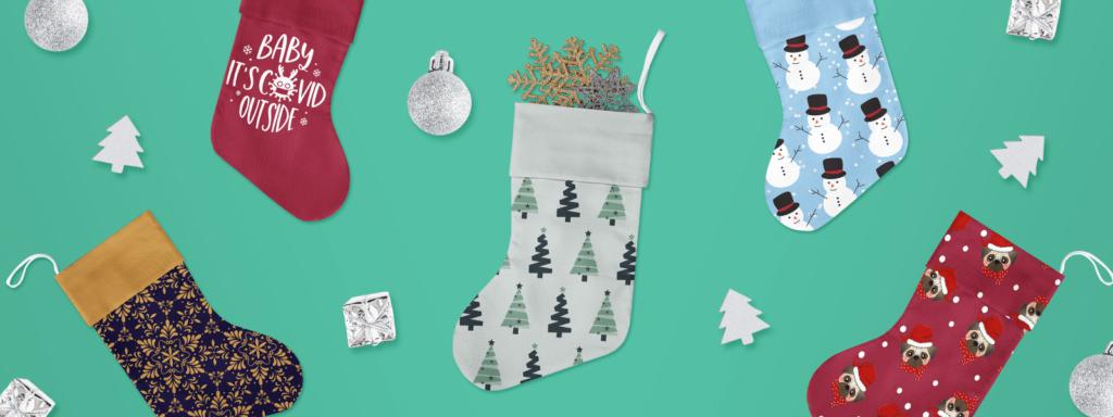 Christmas Stockings TeeChip