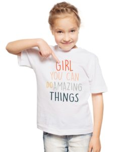 Girl You Can Do Amazing Things Youth T-Shirt