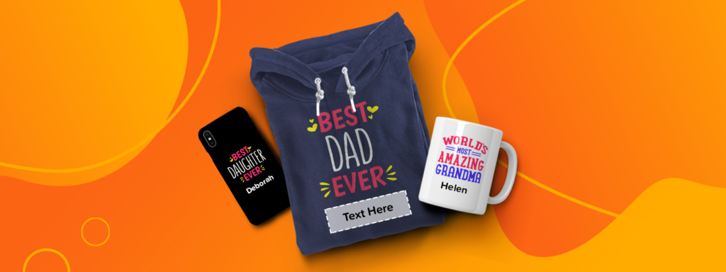 Personalization gifts hoodie, mug and phone case